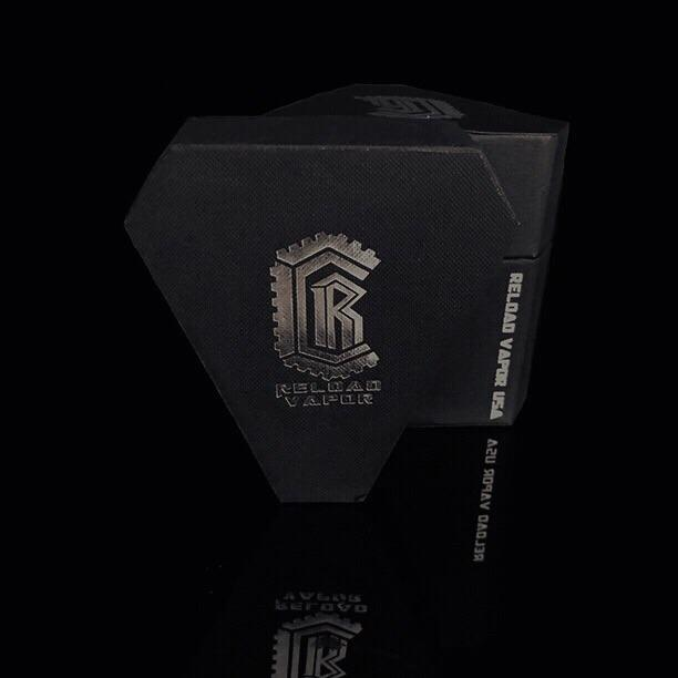 Reload Vapor Squonk Box Mod - Includes 2 X Molicel P25a Batteries